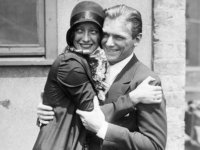 Joan Crawford with Douglas Fairbanks, Jr.