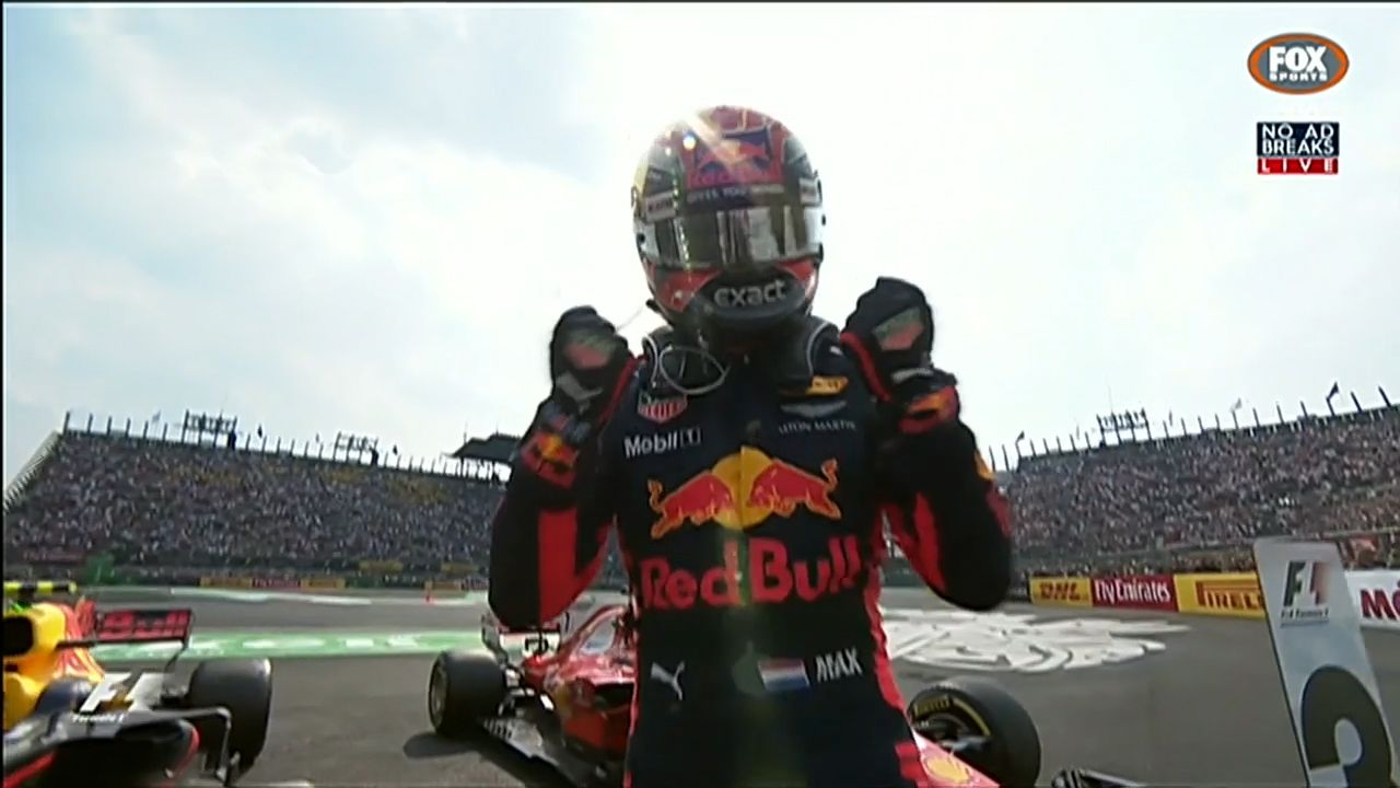 Verstappen wins in Mexico while Hamilton clinches F1 title