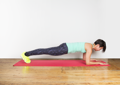 <strong>Swap a stationary plank for...</strong>