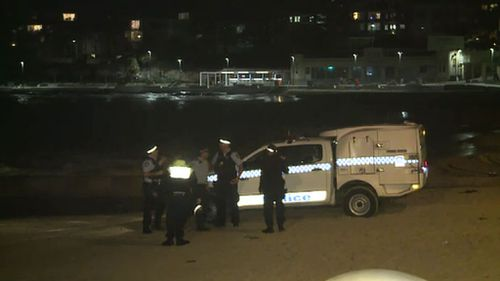 A woman and two men were rescued last night. (9NEWS)