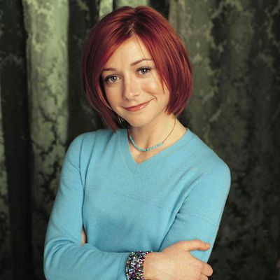 Alyson Hannigan as Willow: Then