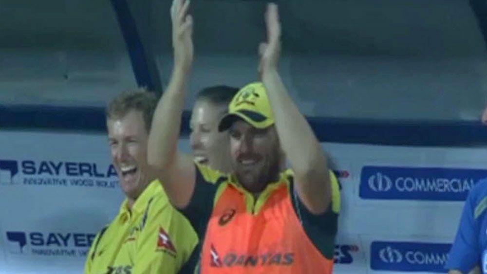 Cricket: Finch laughs off Maxwell's record bid