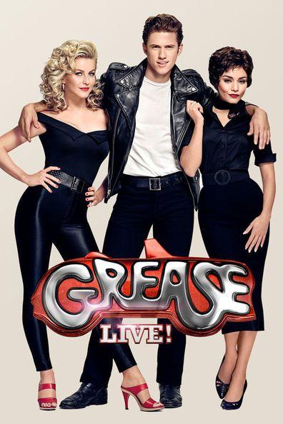 Julianne Hough, Aaron Tveit, Vanessa Hudgens in Grease: Live