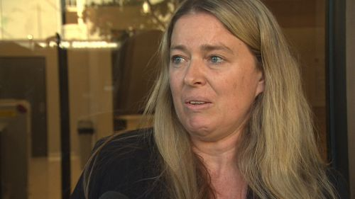 One of Graham Kay's victims, expressed relief that Kay is back behind bars. Picture: 9NEWS
