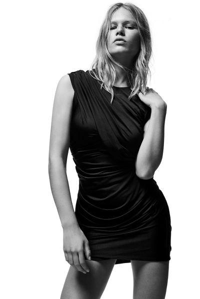 """<p><a href=""""http://www.alexanderwang.com/au/shop/women/dresses-short-dress-draped-jersey-dress_cod34563080wq.html"""" target=""""_blank"""">Dress, approx. $908, Alexander Wang</a></p>"""