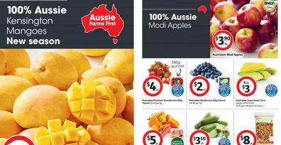 Try new season Kensington mangoes on sale at Coles this week.