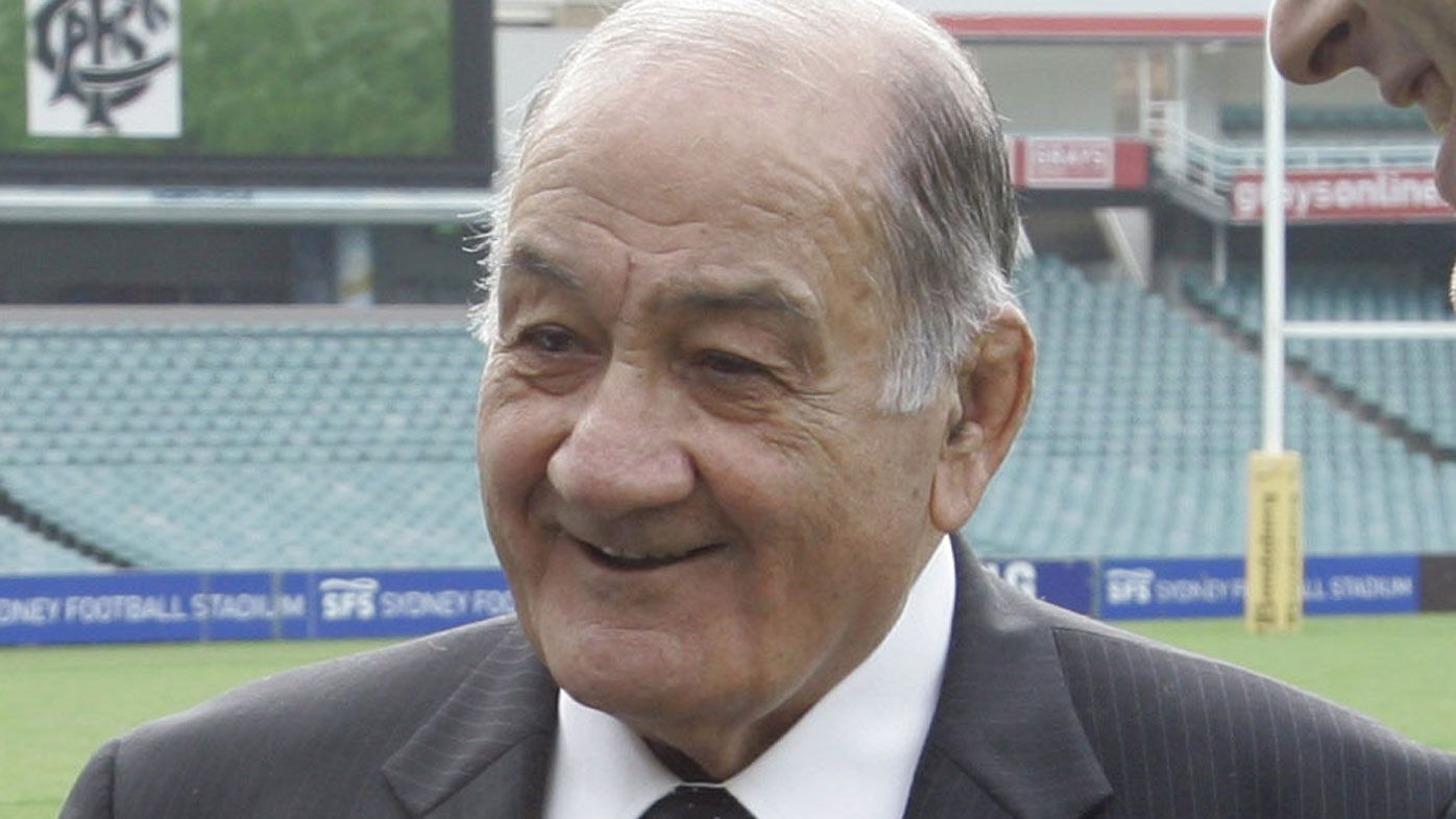 Former Wallabies captain Sir Nicholas Shehadie dies in Sydney aged 92
