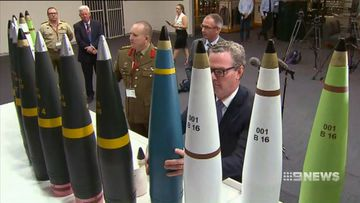 Export permits are overseen by the Department of Defence and reports to Christopher Pyne.