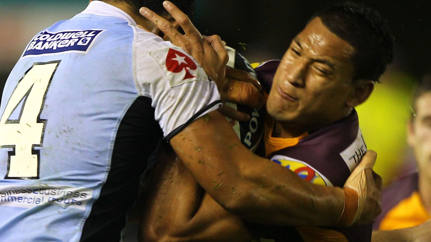 'We didn't back down over Folau' - says Rugby Australia