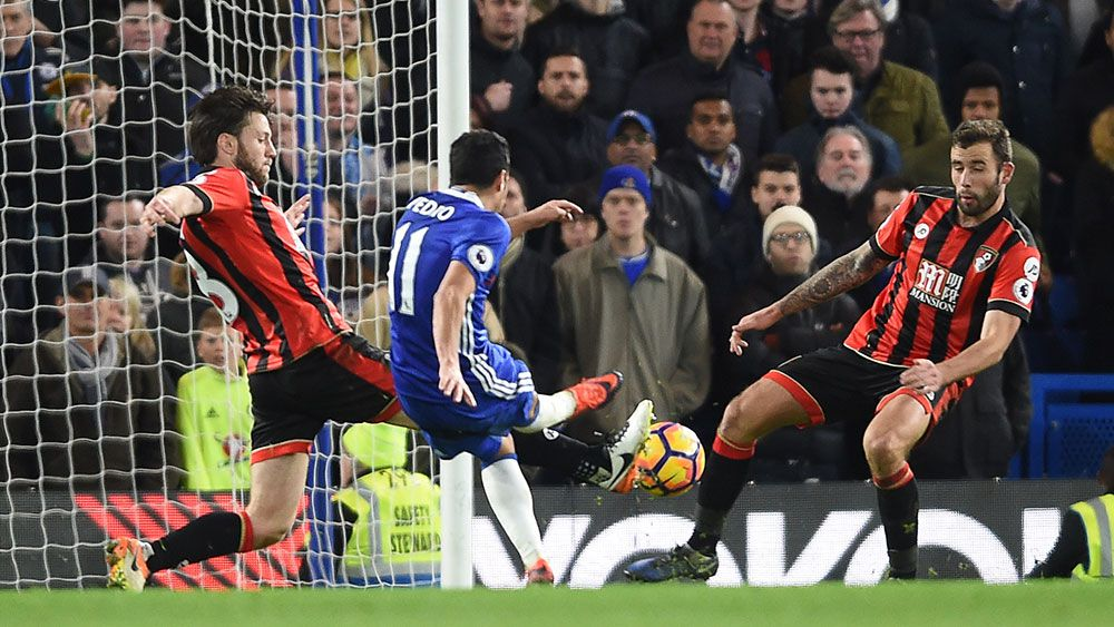 Chelsea down Bournemouth for 12 straight