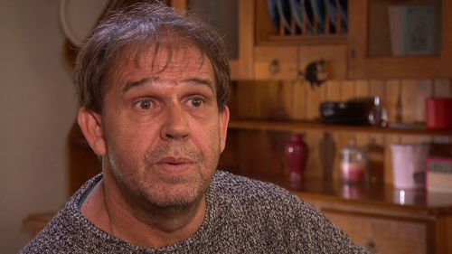 Carer Patrick Johnson claims he lost his $32,000 deposit.