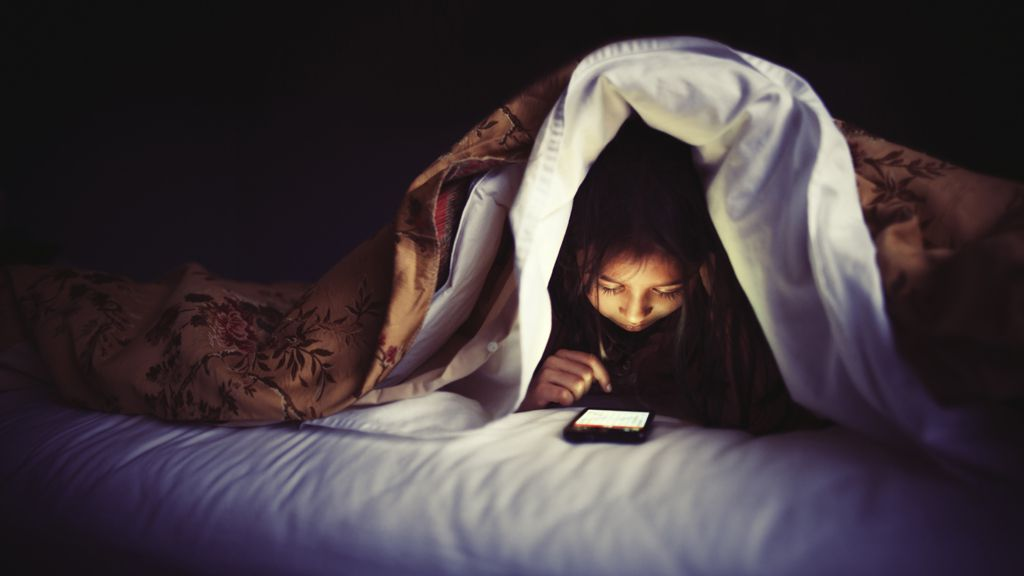 Technology is awesome - but not when it's running your life. Image: Getty.