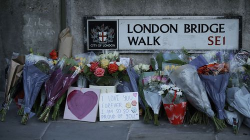 London Bridge shooting tributes