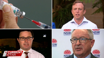 Federal and state governments war of words over vaccine rollout