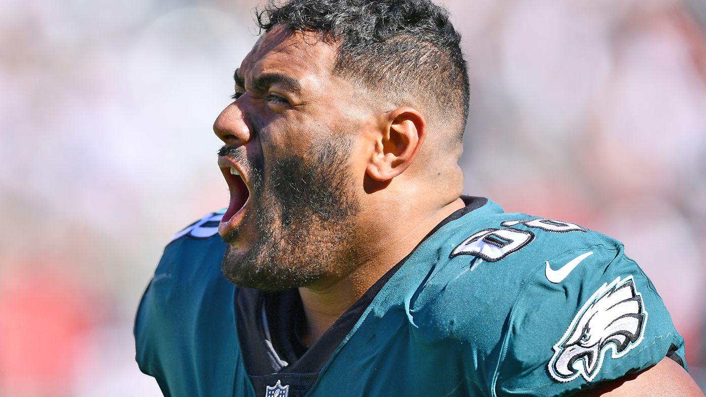 NFL legend Mark Schlereth's 'weird' take on Aussie Philadelphia Eagles star Jordan Mailata