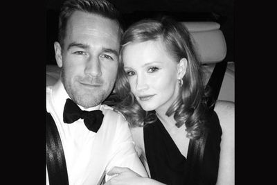 Look sharp, Dawson!<br/><br/>Image: James Van Der Beek/Twitter