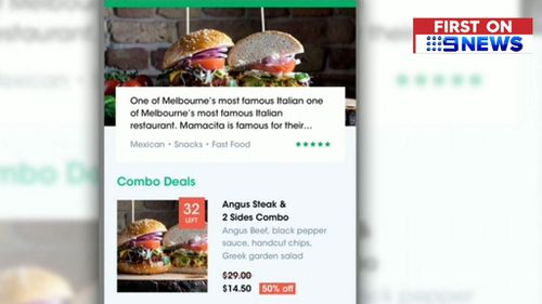 Partnering restaurants will pay a smaller commission fee than other major delivery apps, such as UberEats. Picture: 9NEWS