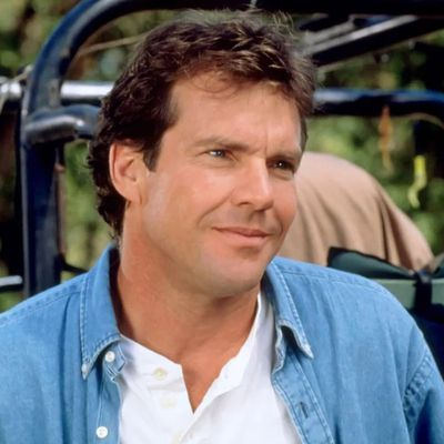 Dennis Quaid as Nick Parker: Then