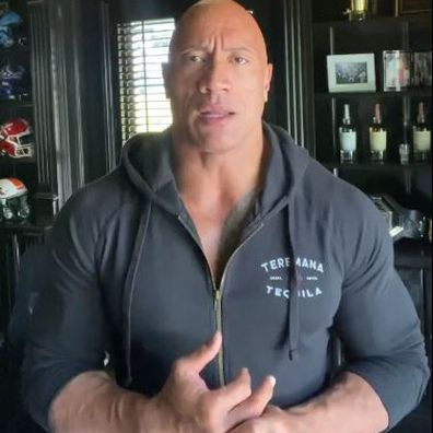 Dwayne 'The Rock' Johnson tests positive to COVID-19.