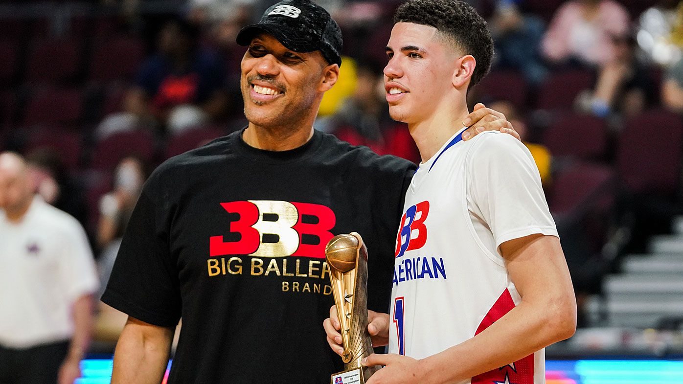 LaVar and LaMelo Ball