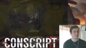 Jordan Mochi the Melbourne man behind the video game Conscript