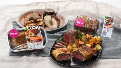 Woolworths winter food range 2022, roast dinners