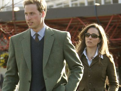 Prince William & Kate Middleton at the Cheltenham Festival 2008