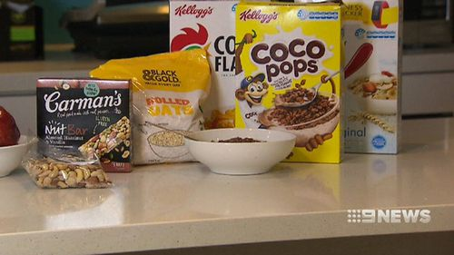 9NEWS discovered some big savings after following the website's recommendations for breakfast. (9NEWS)