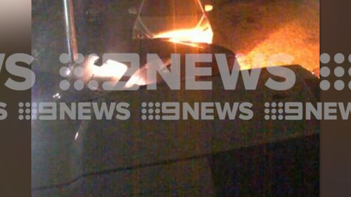 Gymea Sydney drink driving car crash passenger in boot man charged