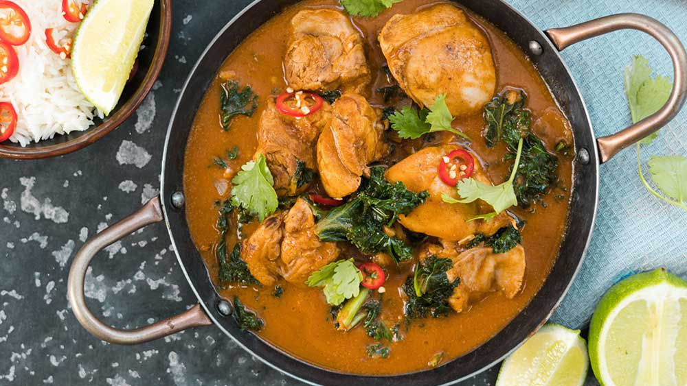 Sam Wood's healthy butter chicken
