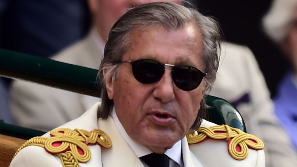 Romanian Fed Cup captain Ilie Nastase.