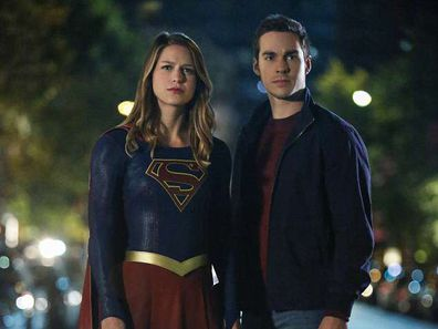 Melissa Benoist, Chris Wood, Supergirl