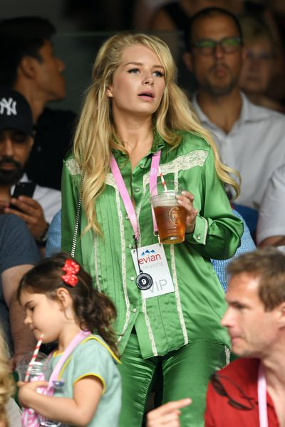 Kate Moss's sister Lottie at Wimbledon 2018