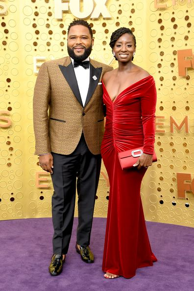 LOS ANGELES, CALIFORNIA - SEPTEMBER 22: (L-R) Anthony Anderson and Alvina Stewart attend the 71st Emmy Awards at Microsoft Theater on September 22, 2019 in Los Angeles, California. (Photo by Steve Granitz/WireImage)