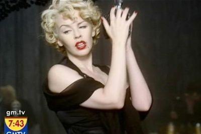 In the '2 Hearts' film clip