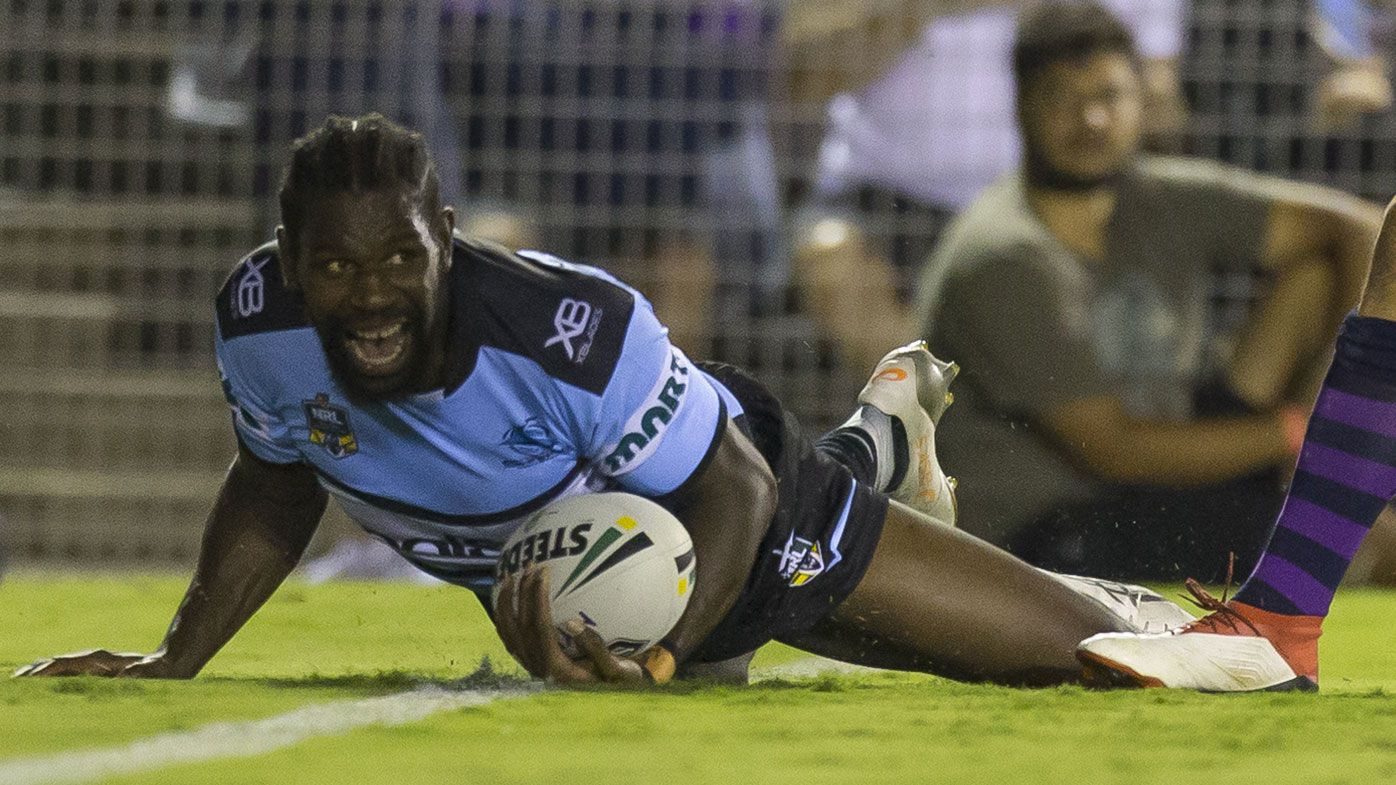 Sharks upset Storm in penalty-a-thon