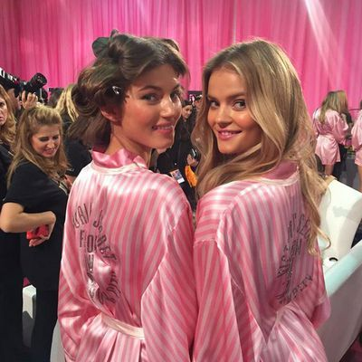 New kids on the block Valery Kaufman and Kate Grigorieva.