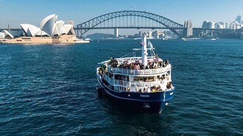 Man hospitalised, another arrested on Seadeck cruise in Sydney Harbour