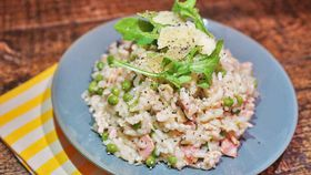 Chicken Mince and Pea Risotto Recipe