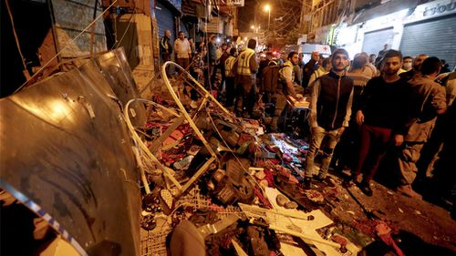 Suicide bomb blasts kill 41 in Beirut Hezbollah bastion