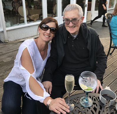 Sarah mother who gave up alcohol father dies cancer