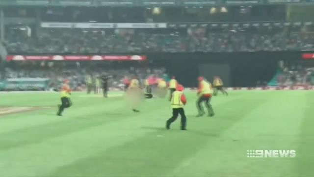 SCG Big Bash streakers charged and fined