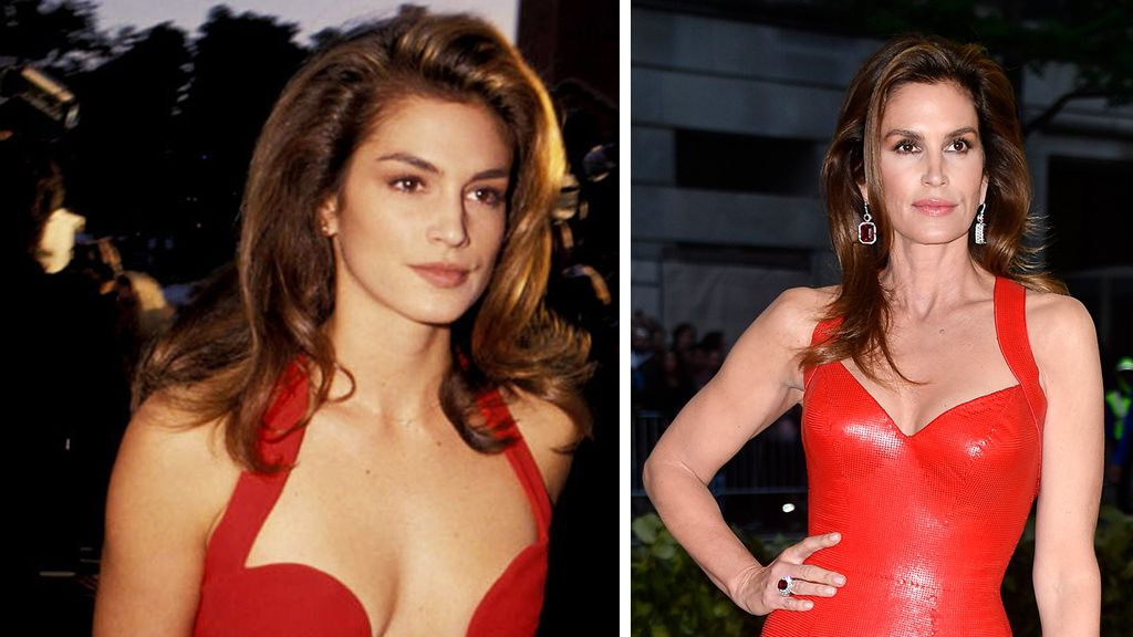 Cindy Crawford recreates her most iconic look at Met Gala