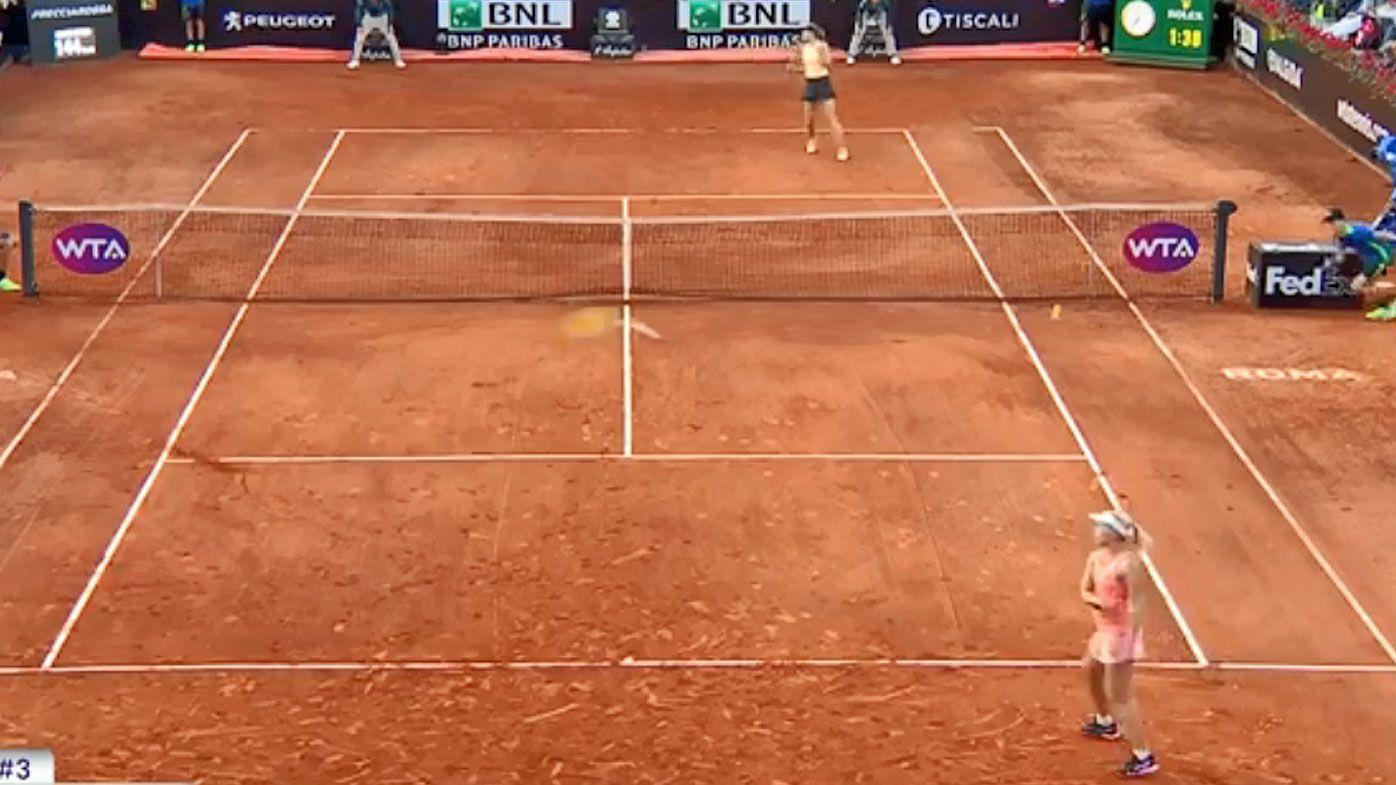 Maria Sharapova too good for Aussie Daria Gavrilova in Rome