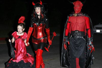 Now this is a mum with Halloween costume commitment!<br/>