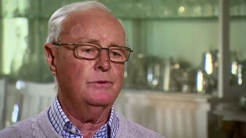 Former Olympian Neil Hewitt said his pain was so bad he had suggested his surgeon take his arm.