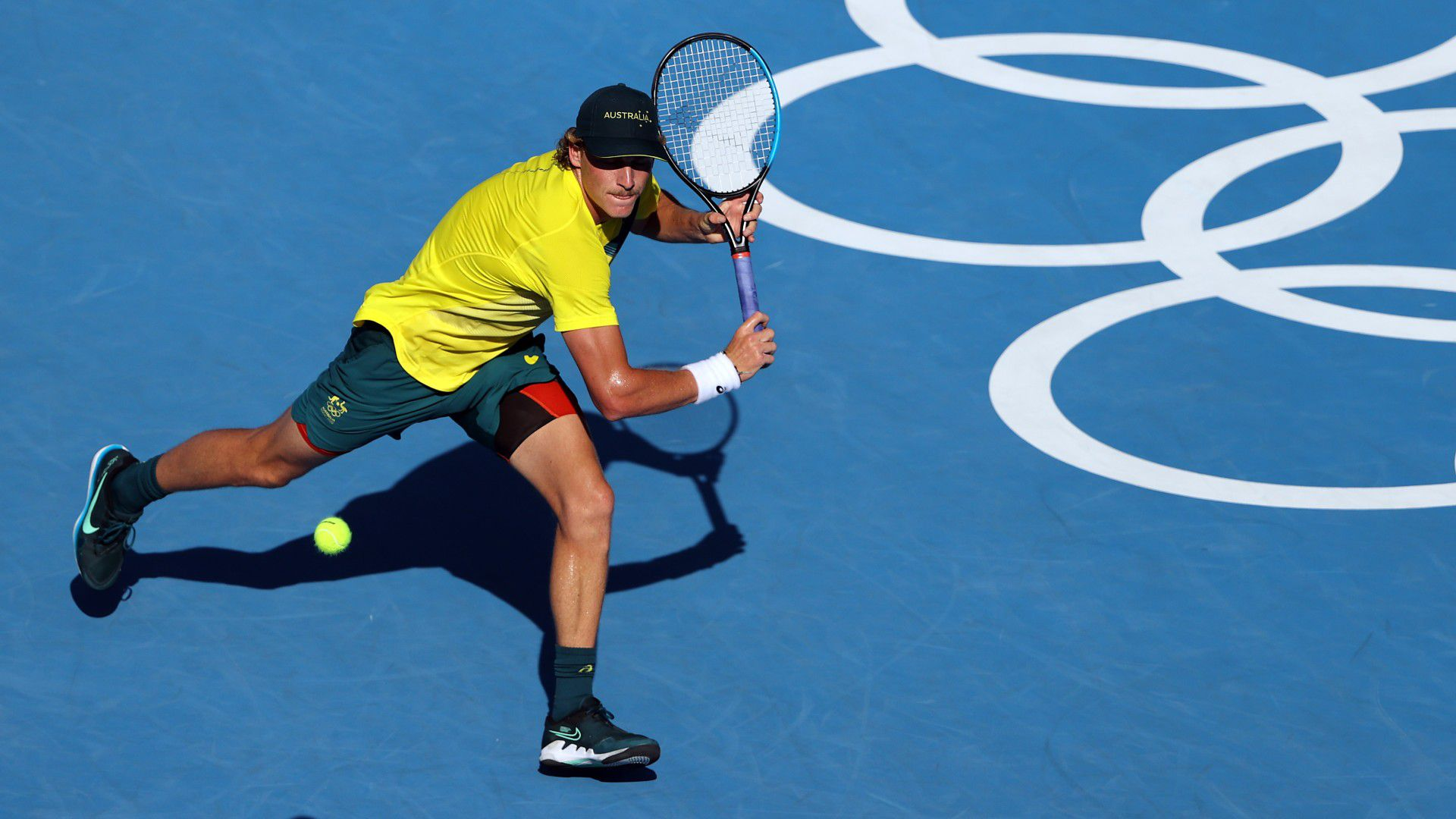 Max Purcell called up to singles tournament, springs huge upset win over Felix Auger-Aliassime