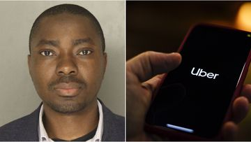 Uber driver Richard Lomotey has been charged with kidnapping and imprisonment after allegedly refusing to let two woman out of his car.
