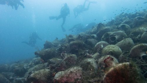 Scuba diving was banned throughout the Greece except in a few specific locations until 2005.