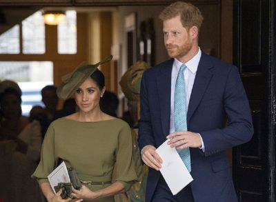 Duke and Duchess of Sussex arrive